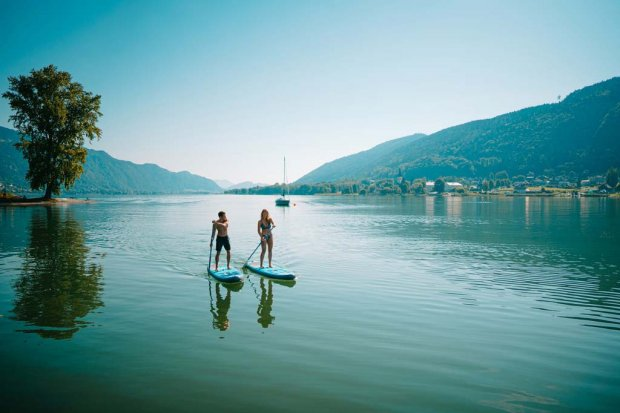 Ossiacher See | Stand Up Paddling | © Martin Hofmann